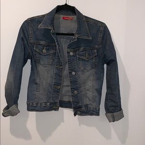 Forever 21 Fitted w/ Stretch Jean Jacket